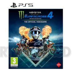Monster Energy Supercross The Official Videogame 4 (PS5)