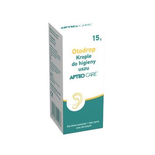 Krople OTODROP Krople do uszu Apteo Care 15g
