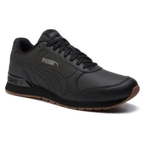 Sneakersy PUMA - St Runner V2 Full L 365277 08 Puma Black/Castlerock, kolor czarny
