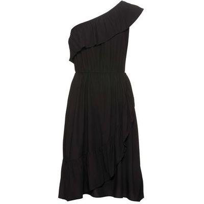 b5e219fa99 suknie sukienki seksowna bawelniana sukienka jedno ramie lancuszek ...
