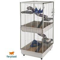 Ferplast Furet Tower klatka dla fretek - Dł. x szer. x wys.: 80 x 75 x 161 cm| Dostawa GRATIS + promocje| -5% Rabat dla nowych klientów (8010690075761)