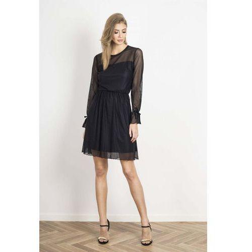 eeff0837 Popielata koronkowa wieczorowa sukienka ołówkowa (Wow Point)