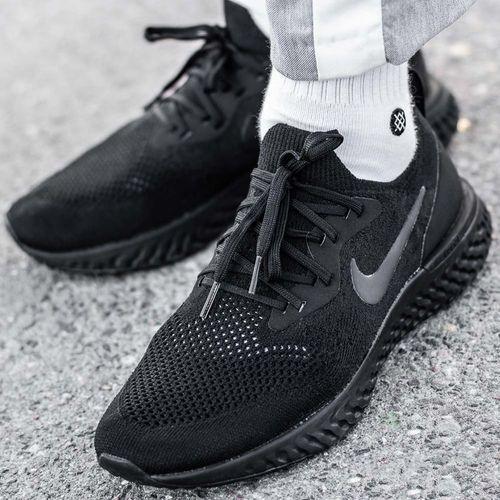Nike Epic React Flyknit (AQ0067-003), kolor czarny