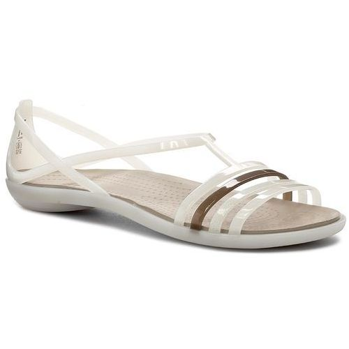 Sandały Isabella Sandal W 202465 OysterWalnut, kolor biały (Crocs)