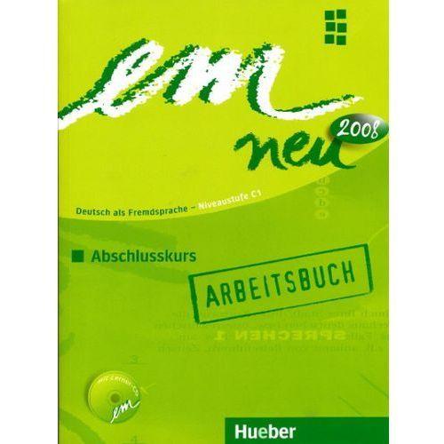 em neu 2008 Abschlusskurs, Arbeitsbuch mit 1 CD (edycja 1 tomowa), oprawa miękka