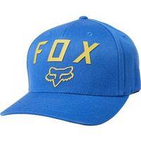 Fox czapka z daszkiem number 2 flexfit royalal blu