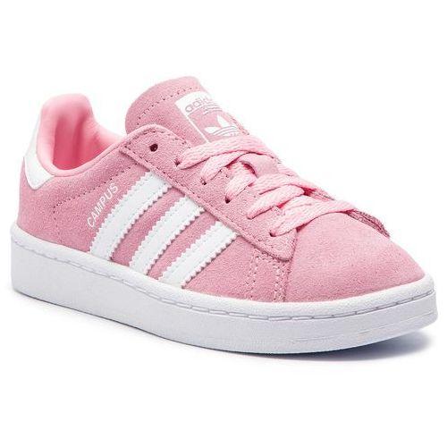 0b30d239 Buty adidas - Campus C CG6653 Ltpink/Ftwwht/Ftwwht, kolor różowy -  fotografia