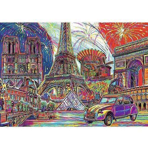 Puzzle 1000 kolory paryża marki Trefl