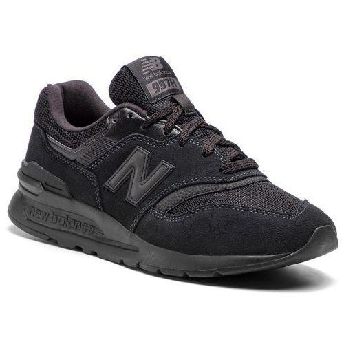 New balance Sneakersy - cm997hci czarny