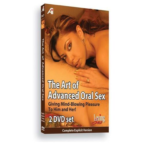 Alexander institute Sexshop - dvd edukacyjne - the art of advanced oral educational dvd - seks oralny dla zaawansowanych - online