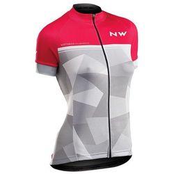 Northwave koszulka rowerowa origin woman jersey short sleeves l pink/grey