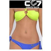 SET Kąpielowki CC7 BRASILIANO NEON + BRIEFS ELECTRIC BLUE no. 12