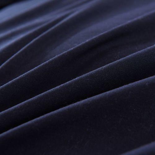 vidaxl trzycz ciowy zestaw po cieli 200 x 220 60 x 70 cm czarny ceny opinie promocje. Black Bedroom Furniture Sets. Home Design Ideas