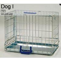 Inter zoo Inter-zoo dog 1 klatka metalowa dla małego psa