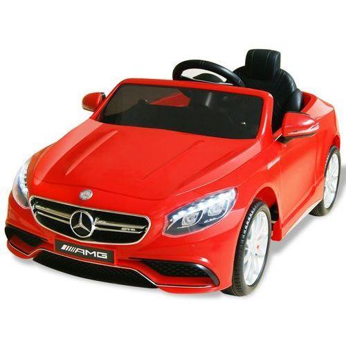 vidaXL Samochód elektryczny dla dzieci, czerwony Mercedes Benz AMG S63