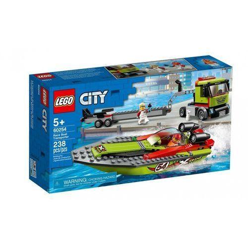 60254 TRANSPORTER ŁODZI WYŚCIGOWEJ (Race Boat Transporter) KLOCKI LEGO CITY