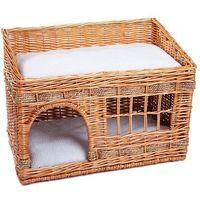 Zooplus exclusive Pueblo domek dla kota - ciemny brąz| -5% rabat dla nowych klientów| dostawa gratis + promocje