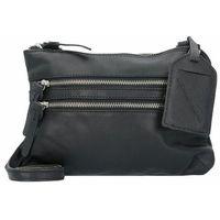 Cowboysbag Bag Tiverton Torebka na ramię skórzana 24 cm black ZAPISZ SIĘ DO NASZEGO NEWSLETTERA, A OTRZYMASZ VOUCHER Z 15% ZNIŻKĄ
