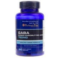 Puritan's Pride GABA 750 mg - 60 kapsułek