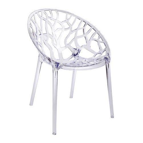 Krzesło koral transparentne - poliwęglan marki King home