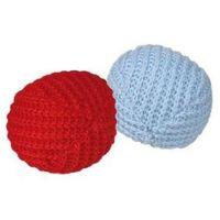 Trixie  piłka wełniana z kocimiętką 4,5cm 2szt [45728]
