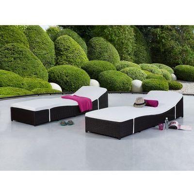 Leżaki ogrodowe Beliani Beliani
