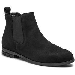 Sztyblety WOJAS - 9503-21 Czarny, kolor czarny