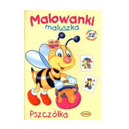 Malowanki maluszka. Pszczółka - Praca zbiorowa - Zostań stałym klientem i kupuj jeszcze taniej (9788363098988)
