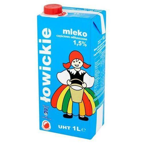 Mleko łowickie 1l. 1,5% op.12 Łowicz