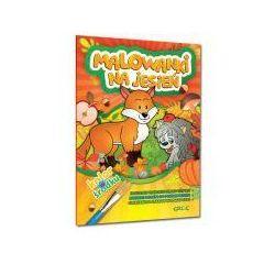 Malowanki na jesień; *kolorowe ilustracje | naklejki - super dodatek*