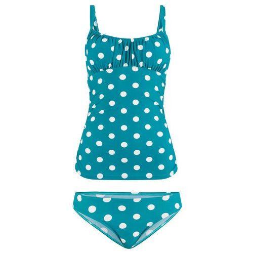 69fa55ec3e3114 Tankini niebieskozielono-biały (bonprix) opinie + recenzje - ceny w ...