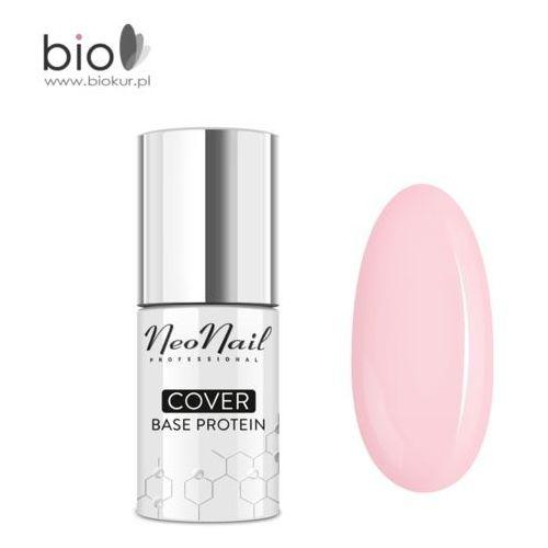 Neonail Nowość! lakier hybrydowy cover base protein nude rose – 7,2 ml - Ekstra oferta