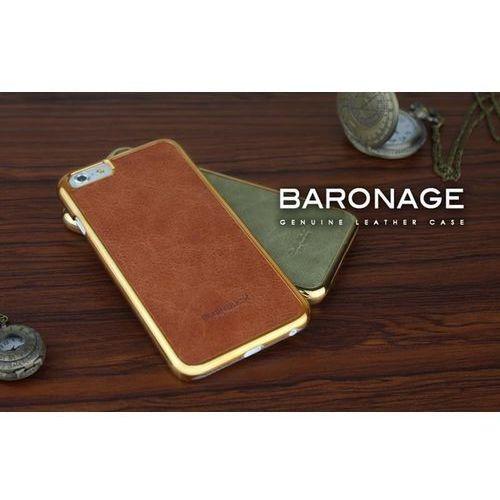 BUSHBUCK BARONAGE Classical Edition - Etui skórzane do iPhone 6s Plus / iPhone 6 Plus (brązowy) (6956261512322)