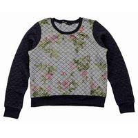 bluza BLEND SHE - Quilty Sweatshirt Dark Grey Melange (20044) rozmiar: XS