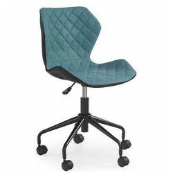 Profeos.eu Młodzieżowy fotel pikowany kartex - turkusowy