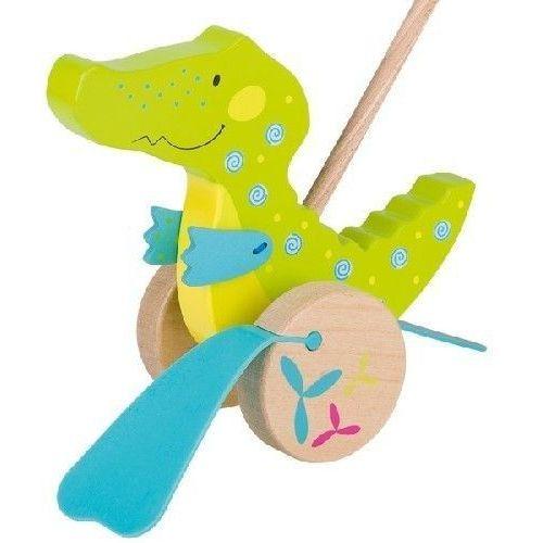 Krokodylek - zabawka do pchania dla dzieci