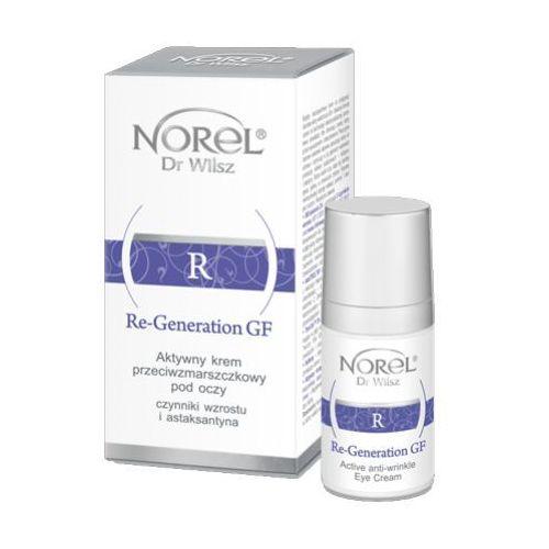 Re-generation gf aktywny krem przeciwzmarszczkowy pod oczy (dz225) Norel (dr wilsz)