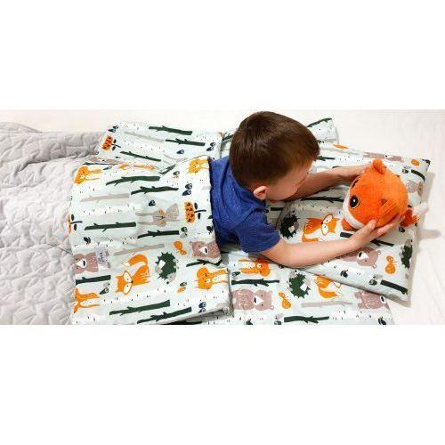Śpiworek przedszkolaka liski velvet wiosenno letni + worek, C5ED-64503