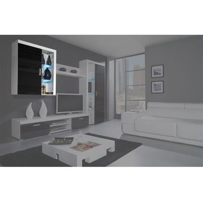 Witryny High Glossy Furniture Meble Pumo