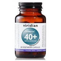Kapsułki Flora Bakteryjna - Synbiotyk 40+ (60 kaps.) Viridian