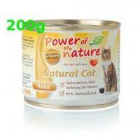 Power of Nature Kurczak 200g Huhn Chicken Natural Cat bezzbożowa grain free (5907222093504)