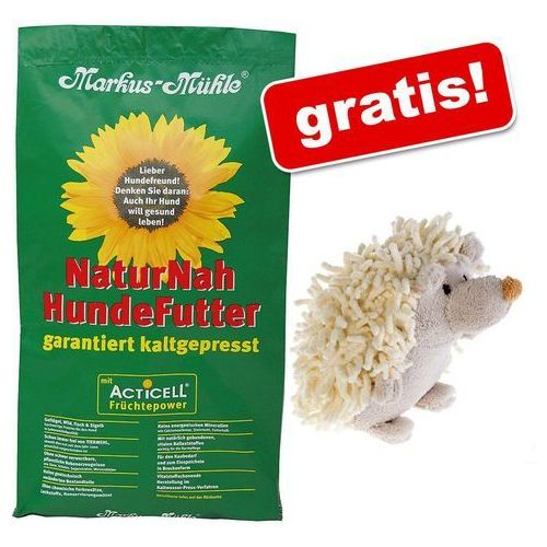 Markus mühle 15 kg markus-muhle + zotti jeż z piszczałką gratis! - black angus senior (4032314030554)