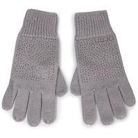 Rękawiczki Damskie LIU JO - Guanti Strass Allove 269009 M0300 Frozen 63850
