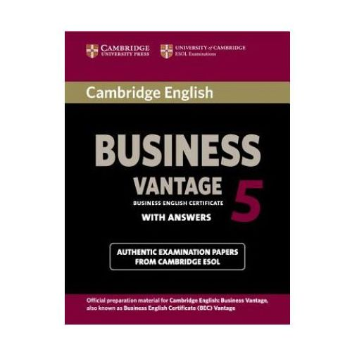 Cambridge English Business (BEC) 5 Vantage Student's Book with Answers (2012)