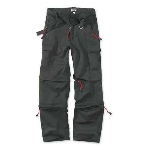 Surplus spodnie trekkingowe 3w1 czarne - czarny (4250403101682)