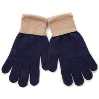 Rękawiczki Damskie TRUSSARDI JEANS - Glovs Logo Mixed Cachemire 57Z1009 U605