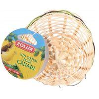 Zolux gniazdko wiklinowe obszyte dla kanarka - luzem - darmowa dostawa od 95 zł!