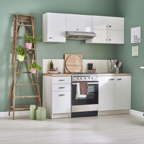 Gotowy zestaw mebli kuchennych aslon 1,8 m marki Deftrans