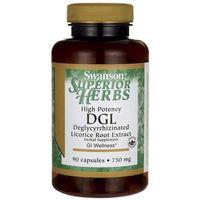 Kapsułki Swanson DGL (Extract z korzenia Lukrecji) 750 mg 90 kapsułek