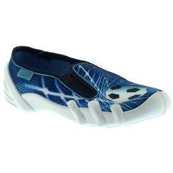 Kapcie dla dzieci Befado 280Y040 Skate - Niebieski ||Granatowy, kolor Niebieski
